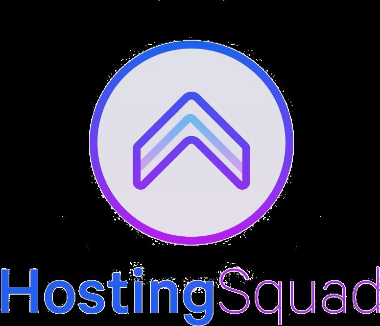 HostingSquad logo verticaal