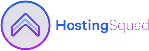 HostingSquad logo horizontaal